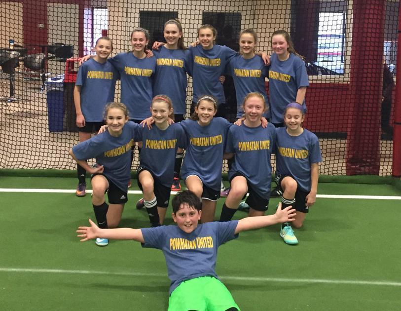 Powhatan United dominates indoor soccer league