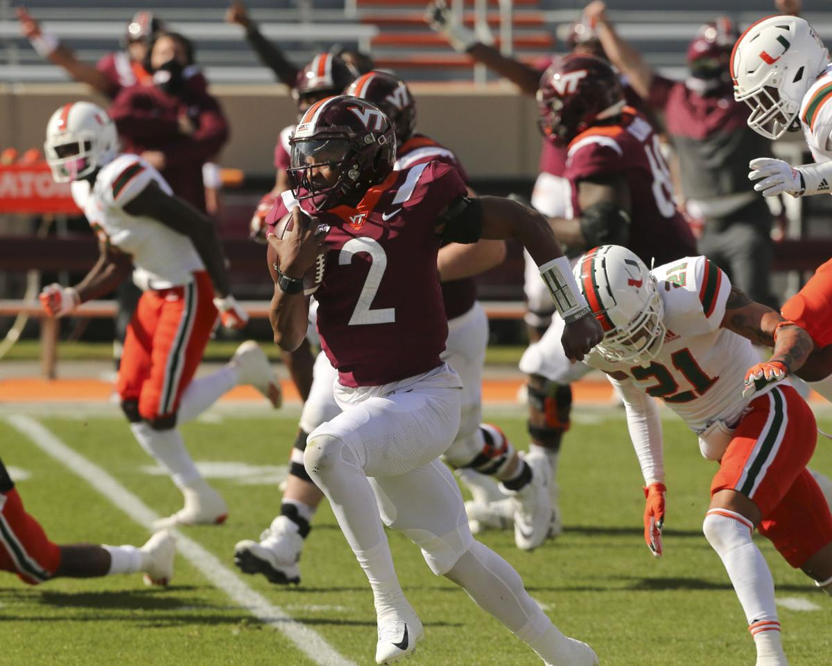 Miami Virginia Tech Football