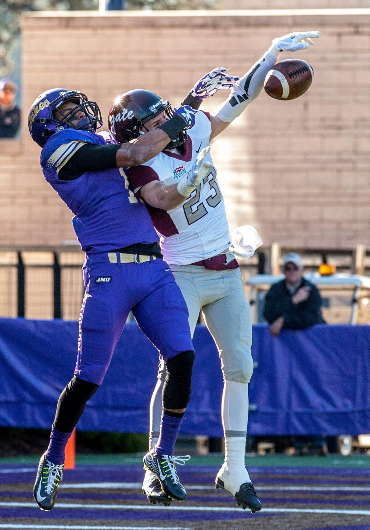 No 5 ranked jmu falls to colgate in fcs playoffs for James madison pets