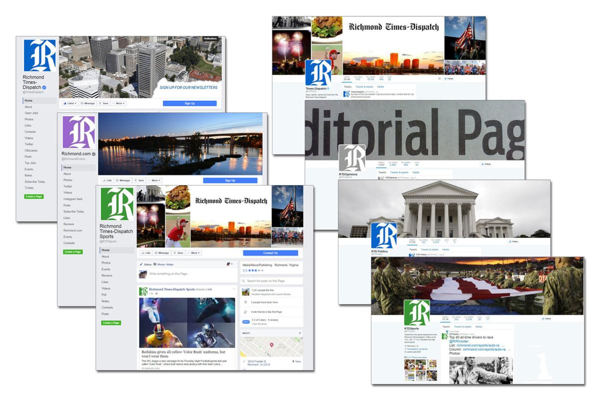 Interact with us - Folling us on social media