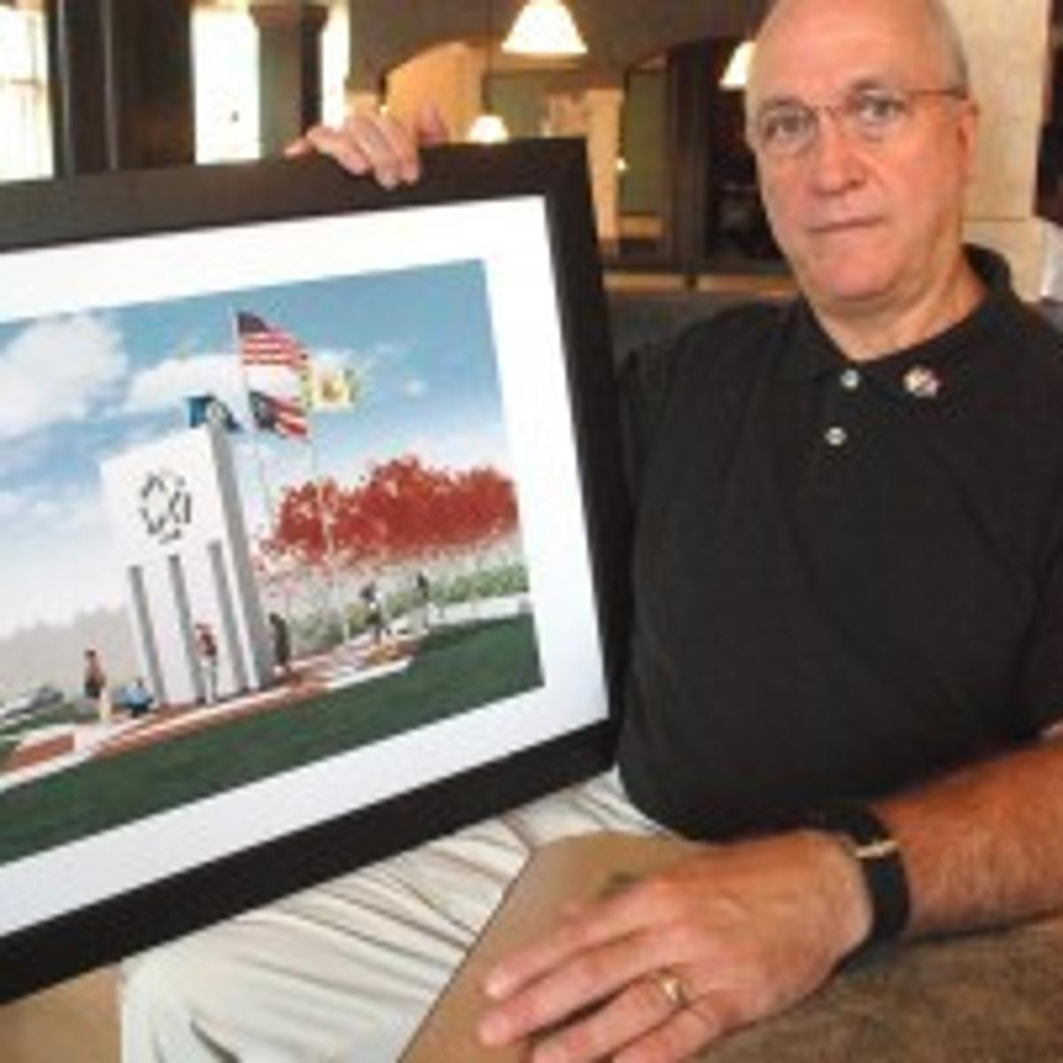 Flag creator wants to build monument to 9/11 memory