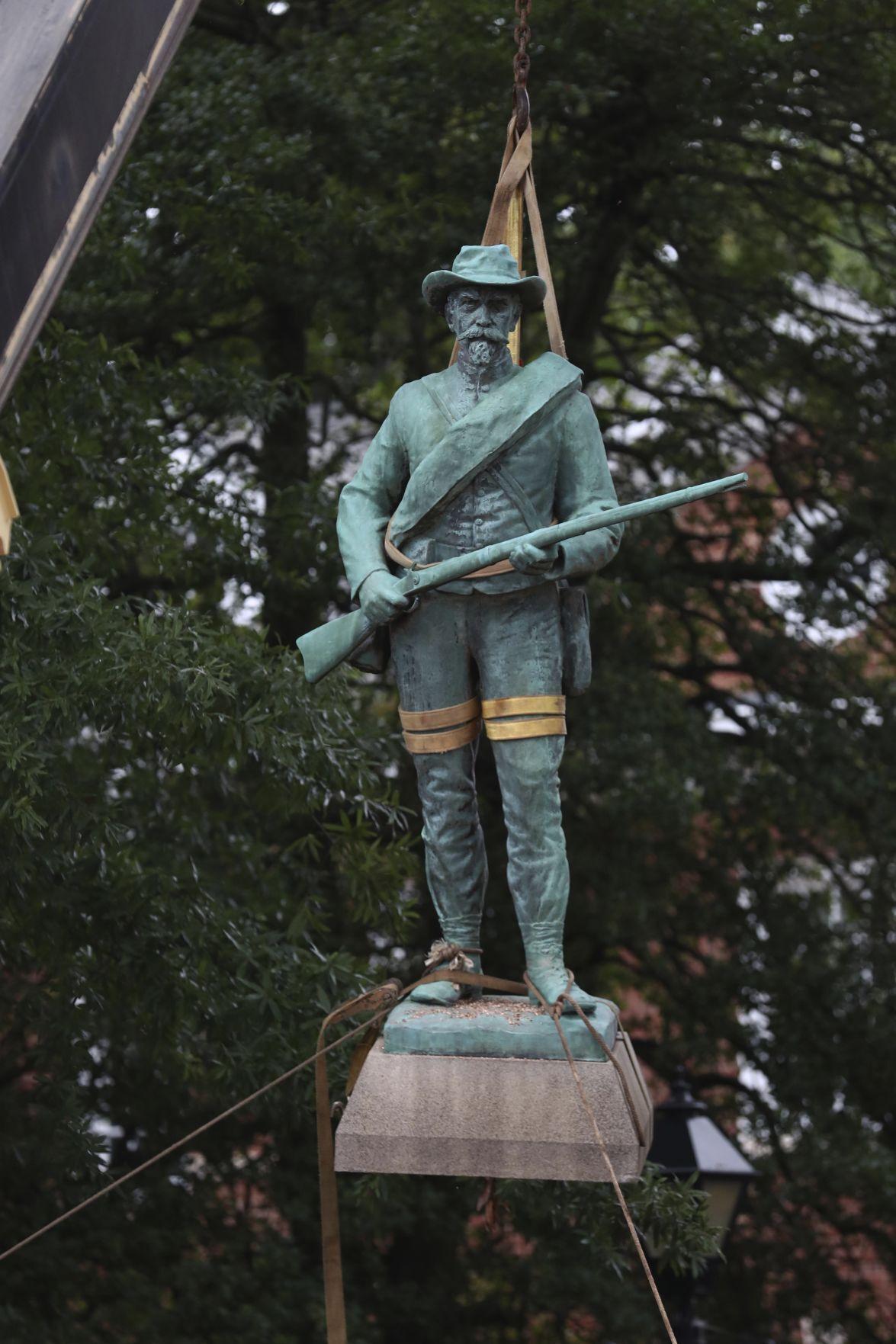 Racial Injustice Confederate Statue