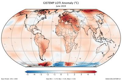 Earth just had its hottest June on record, on track for warmest July
