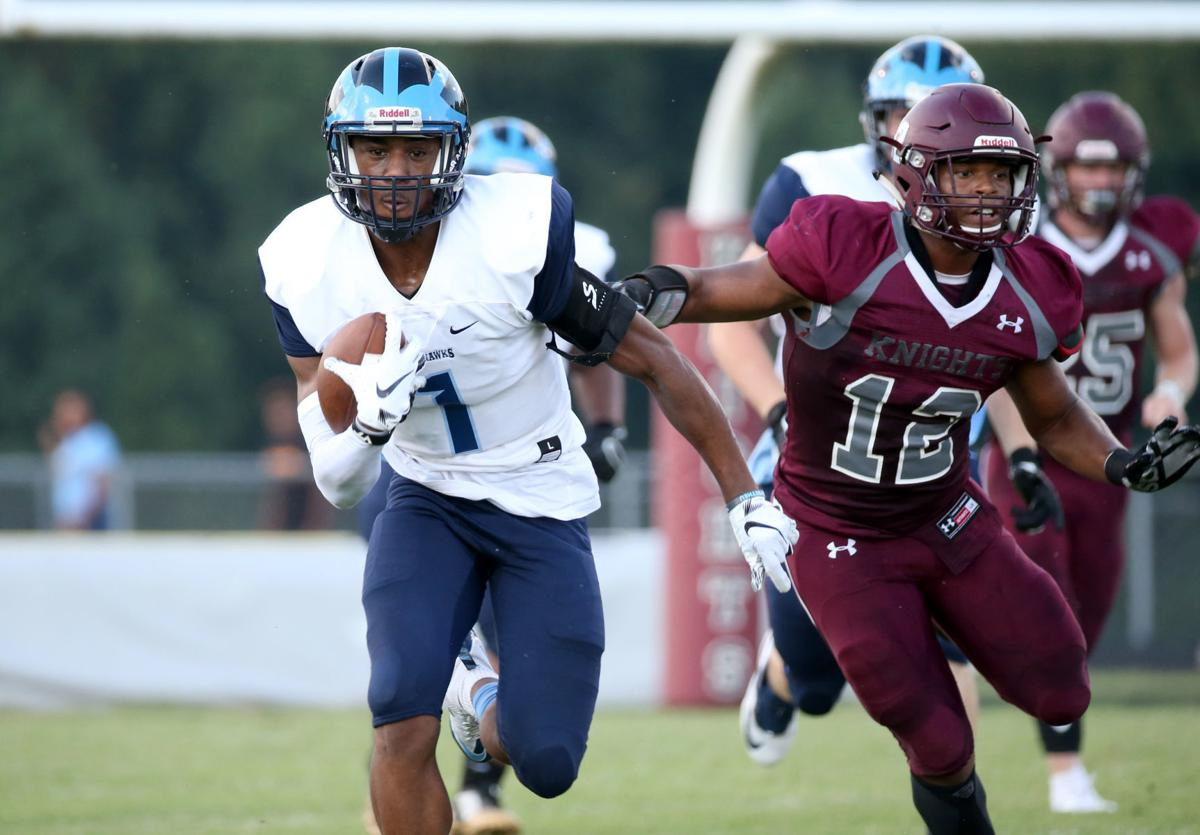 LC Bird At Thomas Dale Football