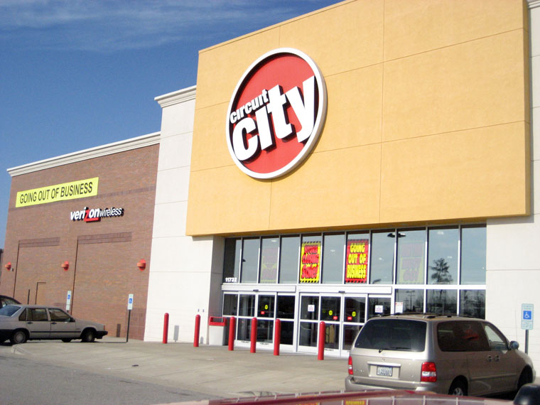 Creditors List Is Nearly All That Remains Of Circuit City