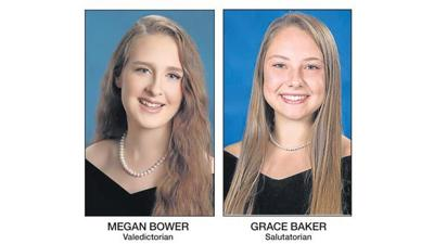 Megan Bower and Grace Baker lead Atlee High School Class of 2019