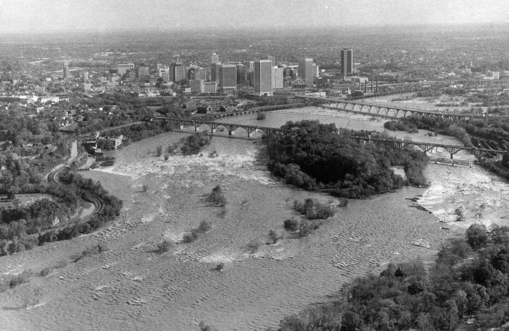 James River wide view PHOTOS Richmondu0027s last