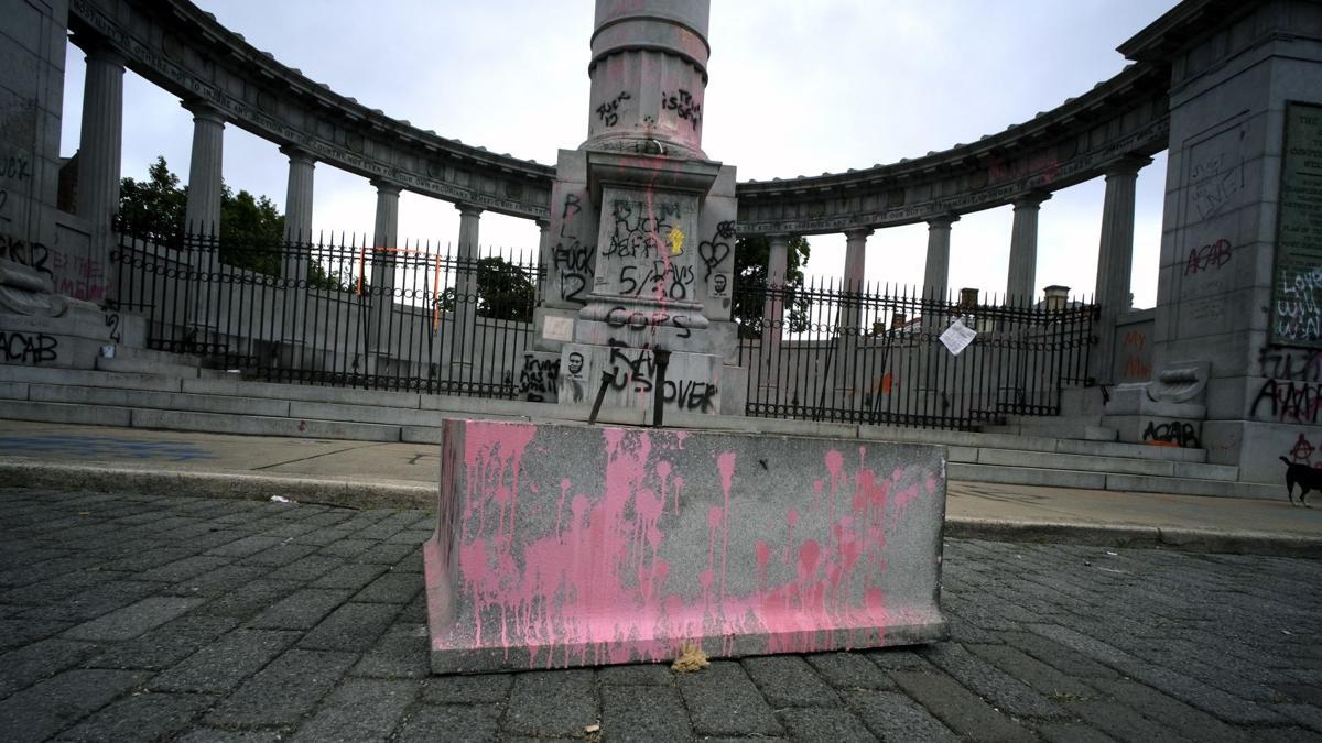Jefferson Davis Pedestal