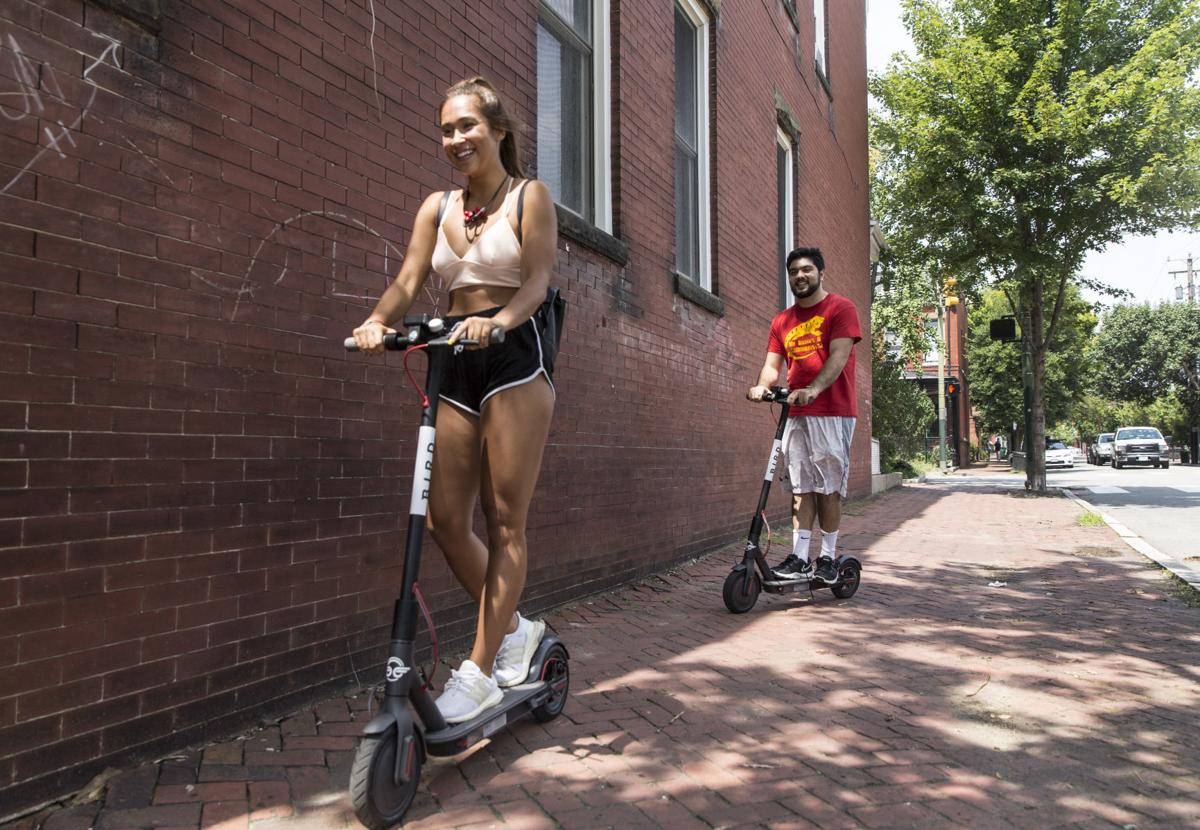 Bird's scooters are grounded in Richmond  Across the country, trips