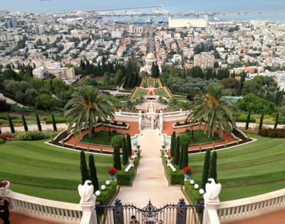 Hanging Gardens Of Haifa In Israel Travel Richmond Com