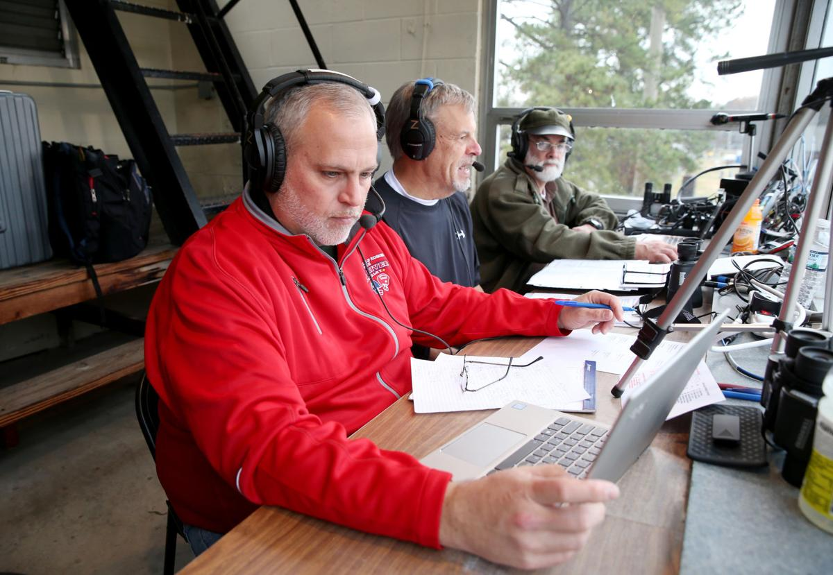 Radio broadcaster Gary Hess