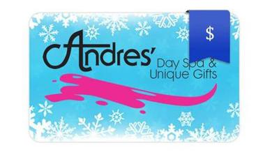Day spa gift card