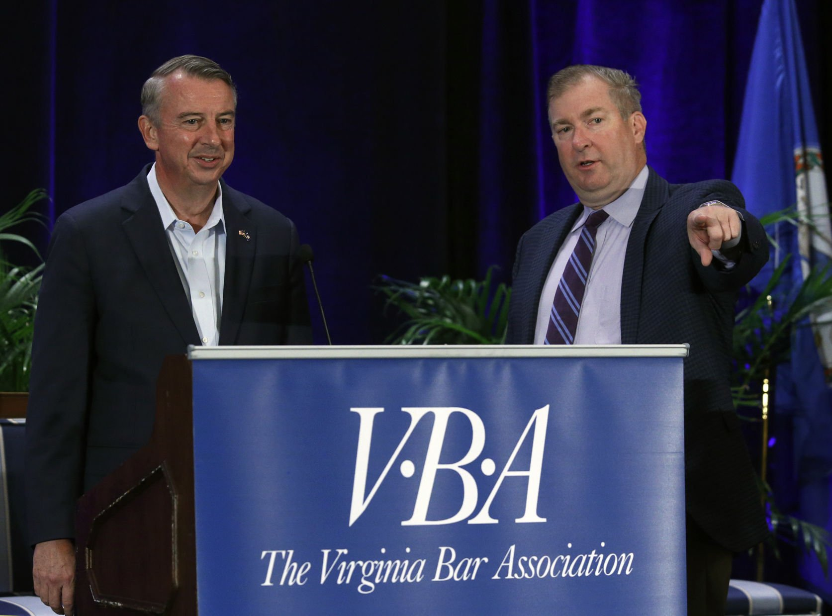 Pemberton native Ed Gillespie tied in Virginia's gubernatorial race