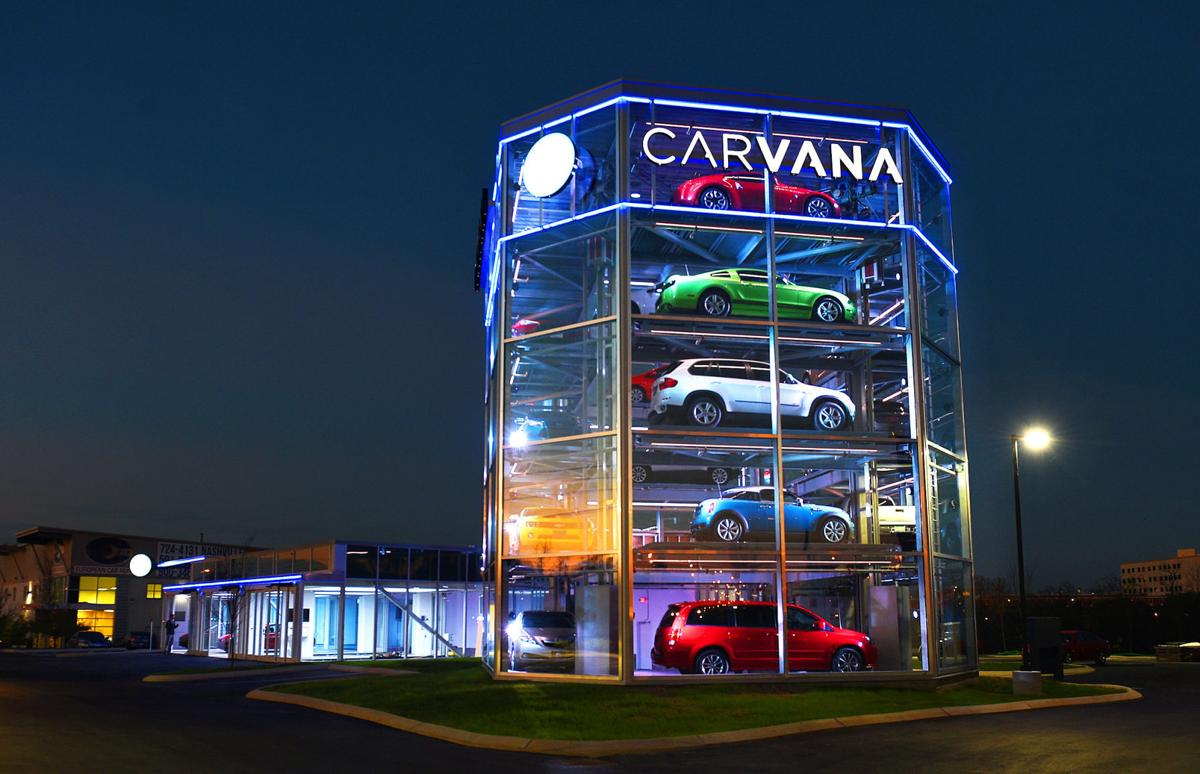 Carvana Planning Auto Vending Machine In Short Pump