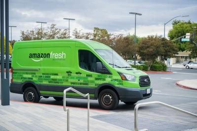 Amazon Fresh delivery service