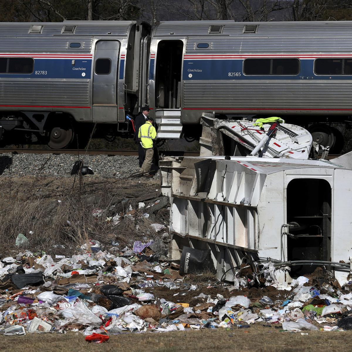 NTSB releases files on fatal Amtrak crash in Crozet involving