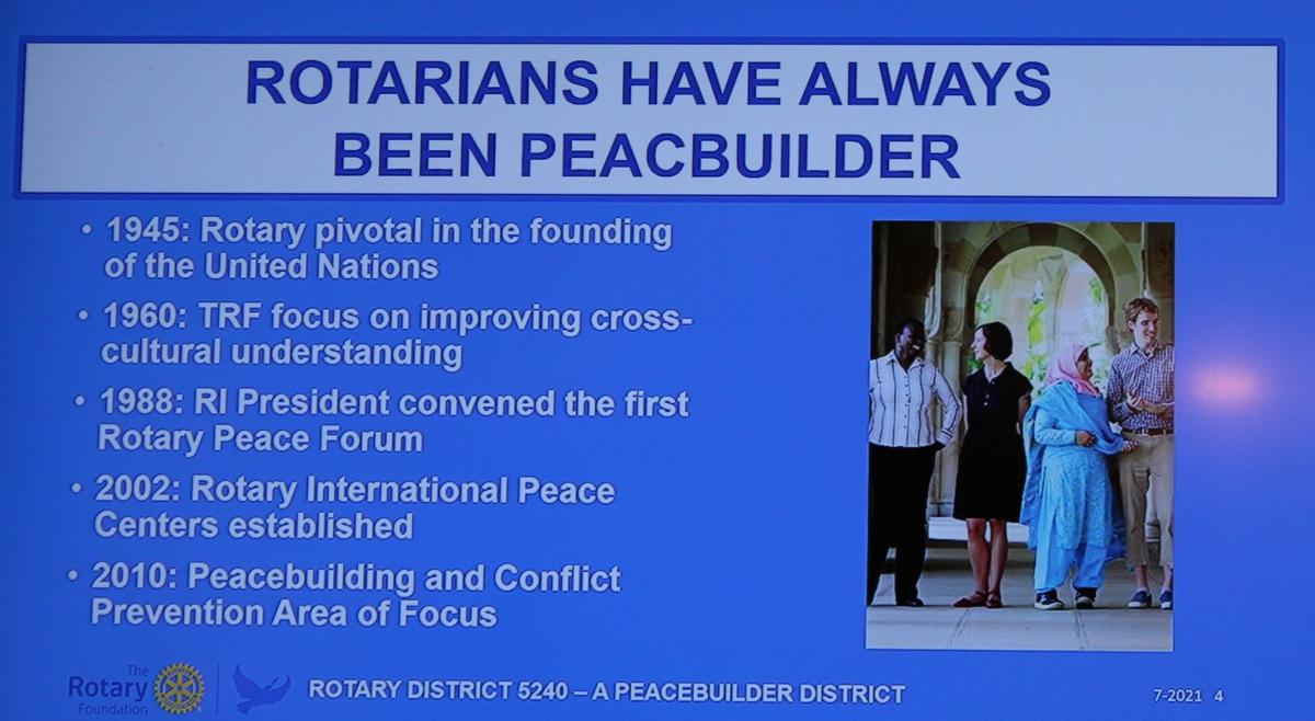 rotary peace project
