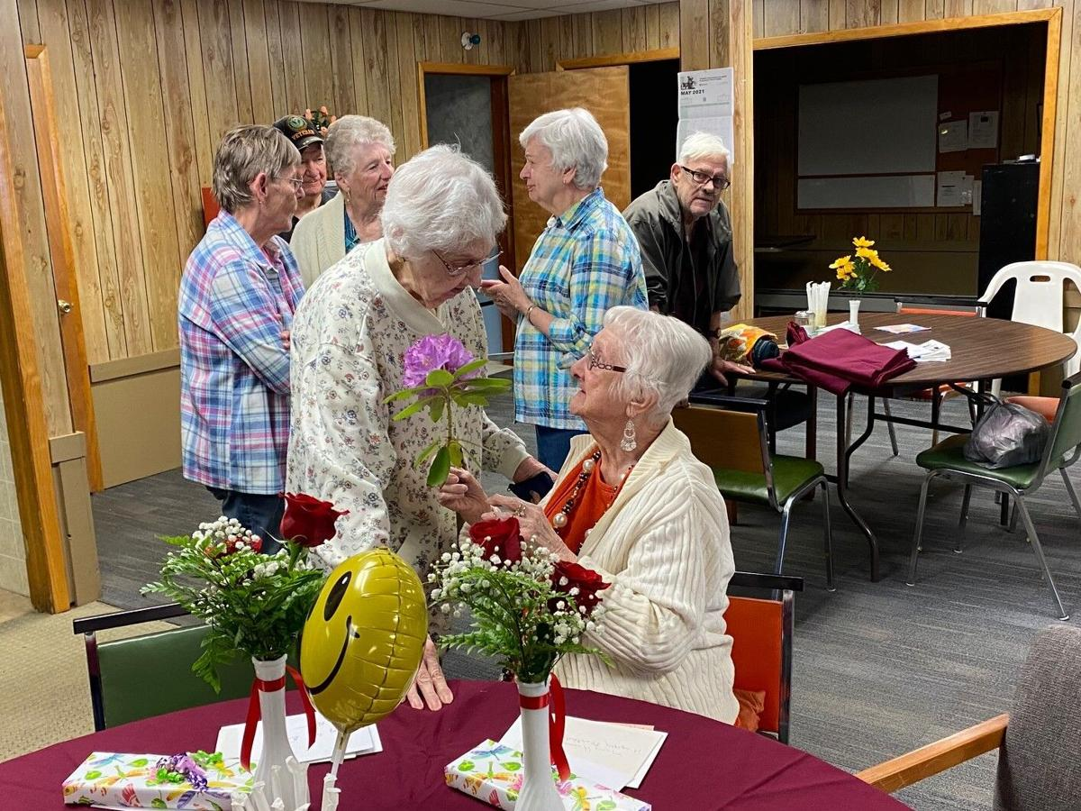 Rita Eckert and Mary Himes celebrate their 100th Birthdays in Ridgway.