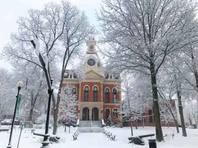 The Elk County Courthouse in Ridgway