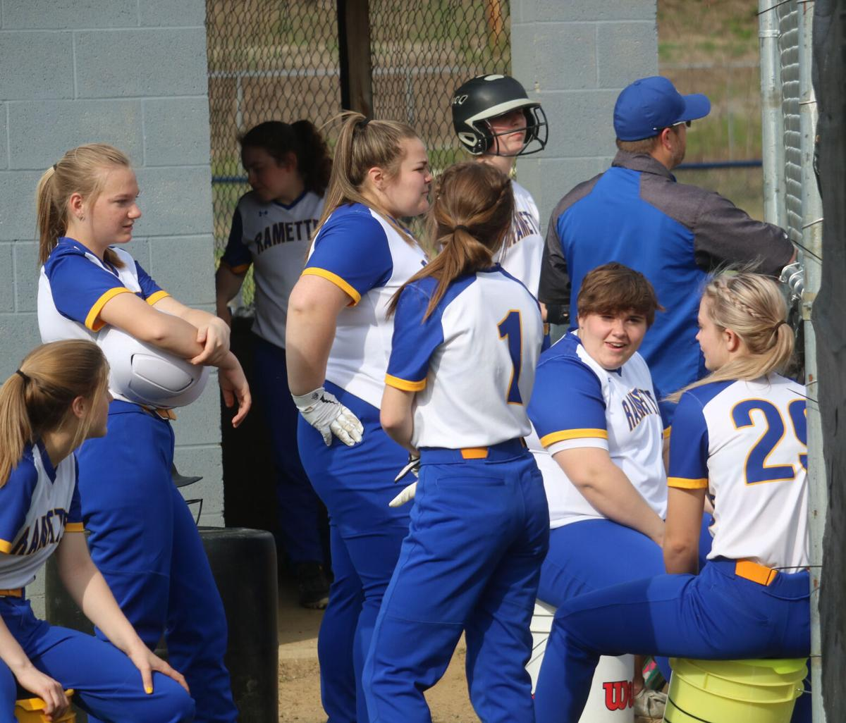 April 27 - Ramettes sweep Sheffield, Rams beat Otto-Eldred