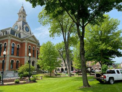 The Elk County Courthouse
