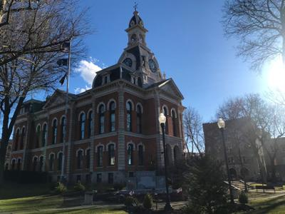 Elk County Courthouse March photo