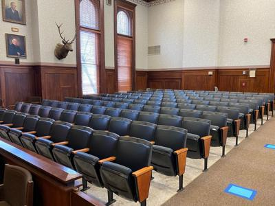 Elk County Courtroom New Seating