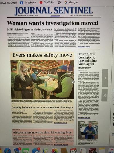Journal Sentinel COVID Editorial