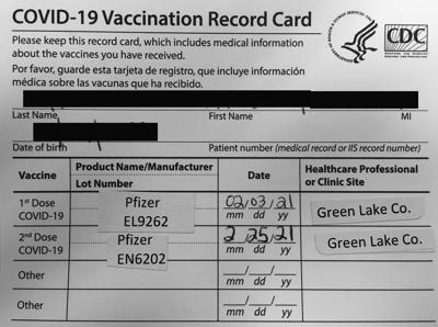 COVID-19 Vaccination proof