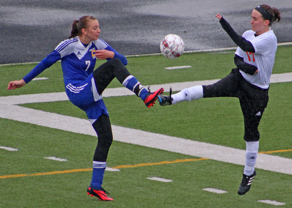 Tiger soccer team kicks it up a notch, falls just 2-1