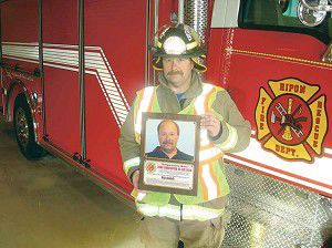 Column: Firefighter finally gets what he deserves: honored by his peers