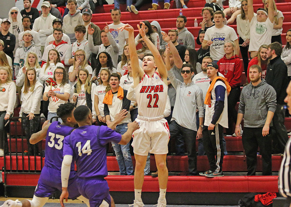 RC men make strides in second half of loss to UW-Whitewater