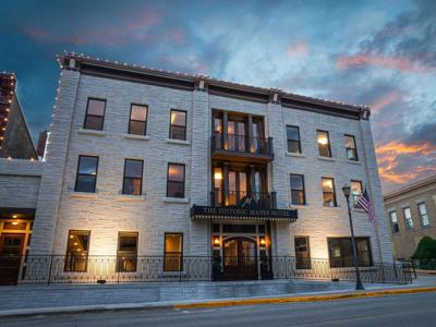 'We have some really good things happening in our community': Mapes Hotel, Rotary Square garner state awards
