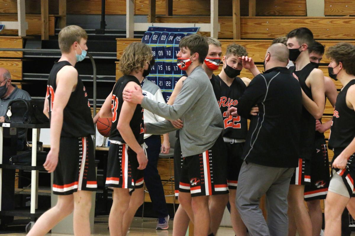 Ripon High School boys' basketball at Xavier — Feb. 19, 2021 (58).JPG