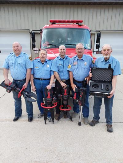 Rosendale Fire Department gets new equipment