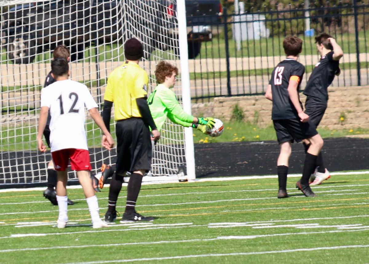 Ripon High School boys' soccer vs. Green Bay East — April 17, 2021 - 5.jpg