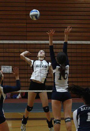 Tiger volleyball takes second in bronze division at UW-O
