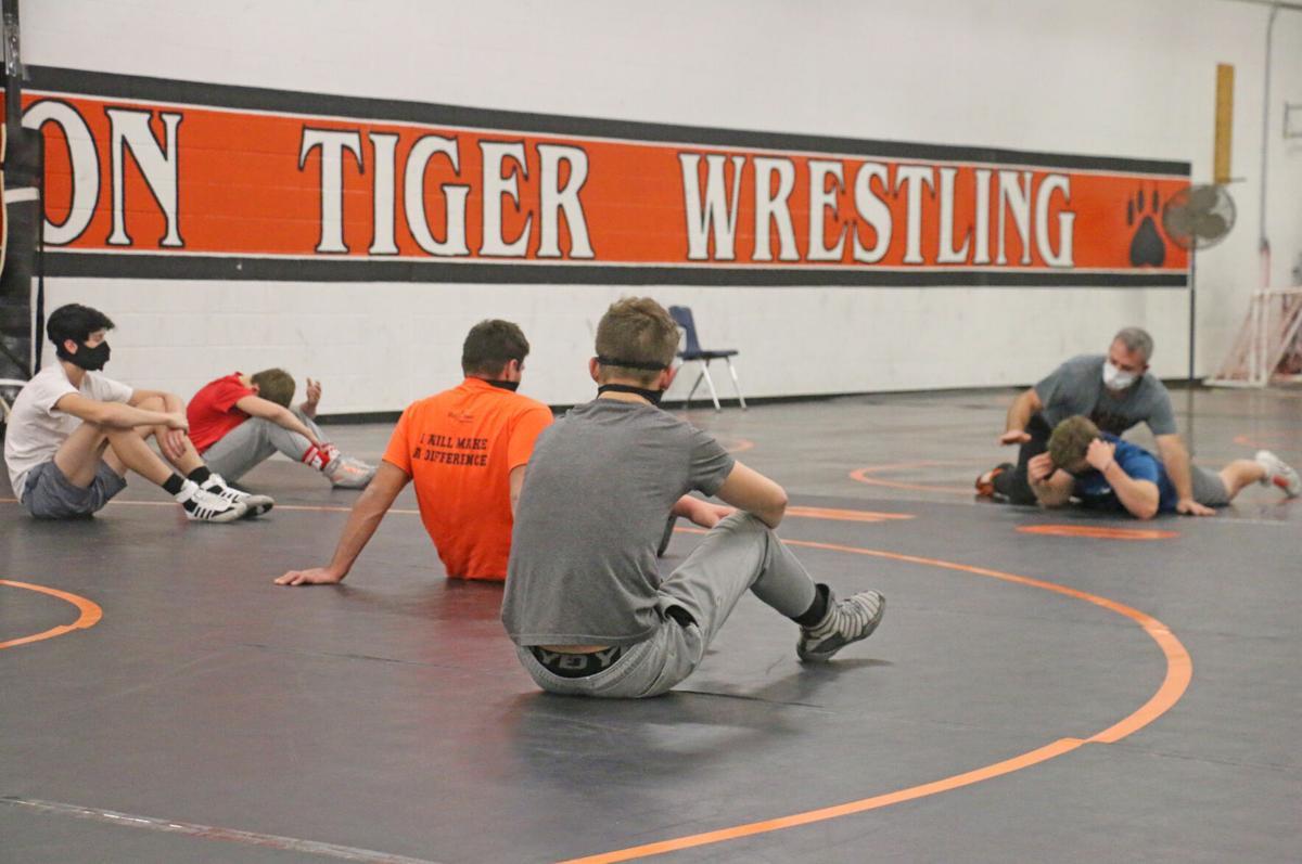 Wrestling Practice begins