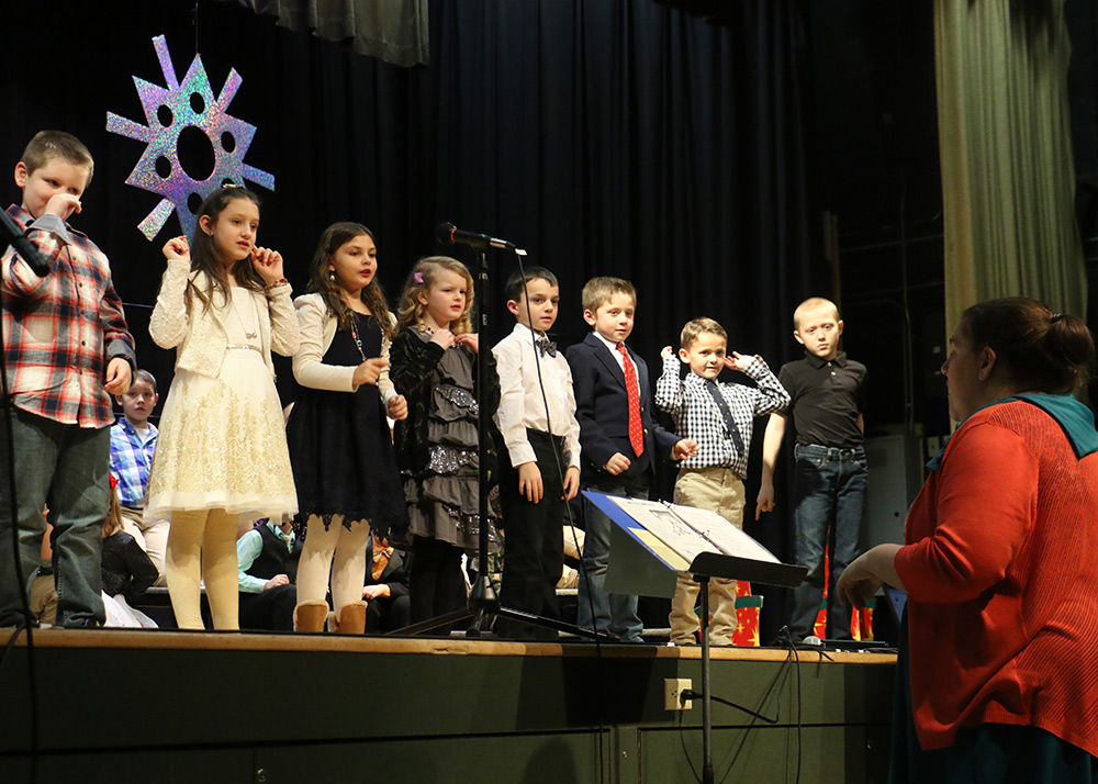 Laughing all the way: GL elementary presents its winter concert