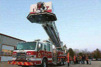 Ripon receives new ladder truck