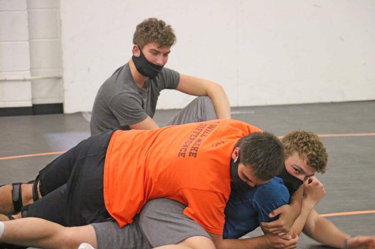 Wrestling Practice begins-2