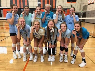 Ripon volleyball teams wins Tiger Invite