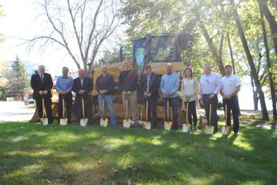Ground broken on Heidel House property: Officials boast project completion by May 2021