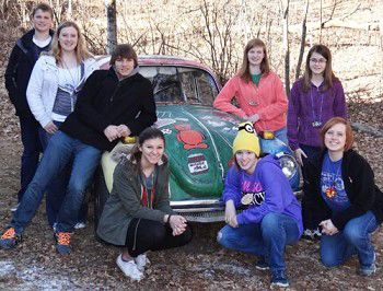 Students head to Germany and back ... sort of
