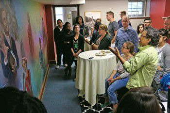 College honors late chaplain Thompson