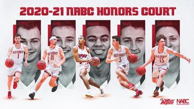 RC men's basketball NABC Honor Court