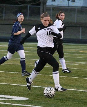 Tiger girls' soccer picks up second consecutive win