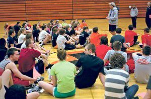 Power of numb3rs:Track and field team begins practice with 69 athletes