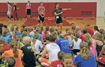 Camp is in session: RC women's bball program draws 81 participants