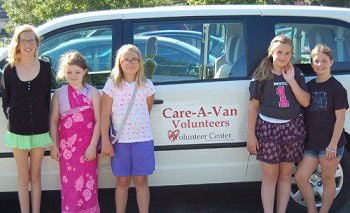 Kids turn summer into service with Care-A-Van